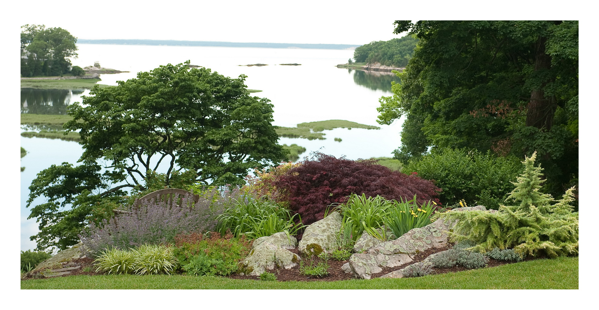 Windbreaks for the coastal garden | Rock Spring Design ... on Nautical Backyard Ideas id=46685